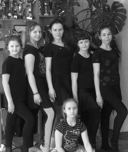 детская группа-современная хореография.