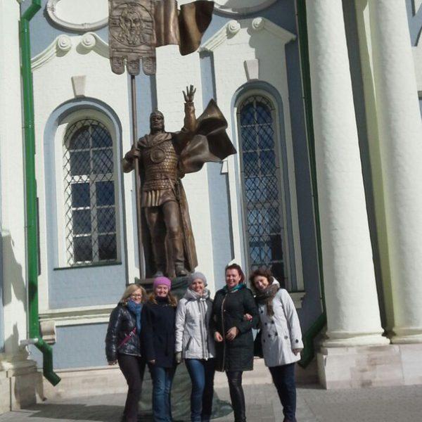 Прогулки перед Гала концертом. г.Тула