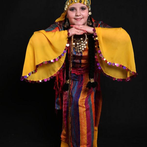 Левит Полина в костюме саиди.