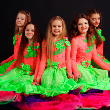 Танцы для детей в Орле. Студия Амира